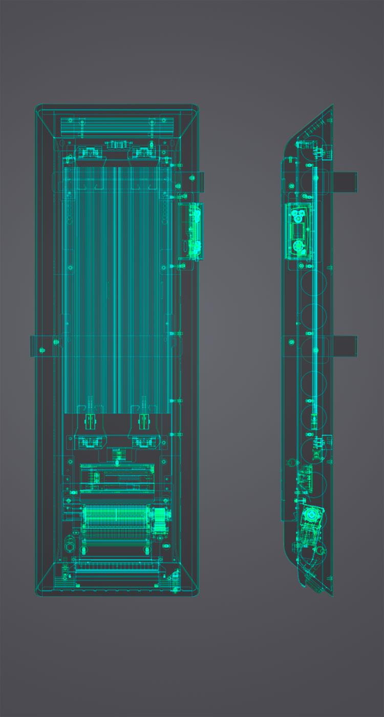 Image partie innovation du produit ISEO BAINS  Alto 3.0
